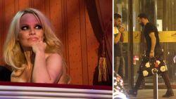 "Pamela Anderson: ""Franse wereldkampioen reist elke avond naar Parijs om met me te slapen"""