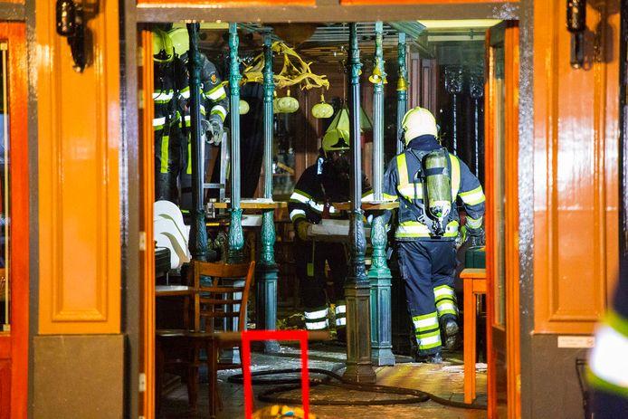 Brand bij Jansen en Jansen in Schijndel.