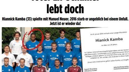 Ex-speler van Schalke 04 blijkt vier jaar na 'zijn dood' weer springlevend