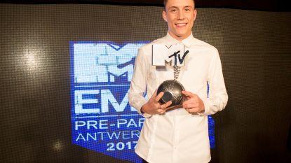 Loïc Nottet wint MTV EMA voor beste Belgische artiest
