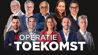 #Operatietoekomst. Tien experts geven hun adviezen om ons land weer te laten werken