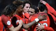 PSG dankzij twee treffers van Di María al zeker tot morgen naast leider Monaco, Meunier blijft aan bank gekluisterd