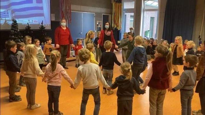 Leef- en leerschool Sint-Elooi is gestart met een uitwisselingsproject.