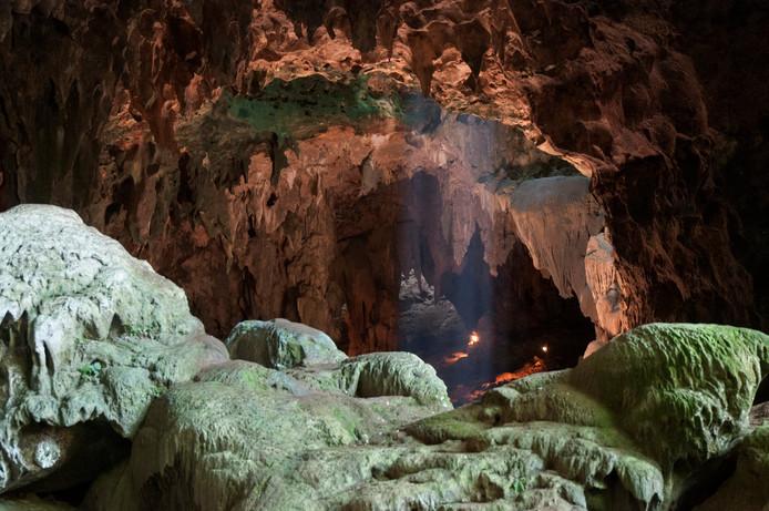 In de Callao-grot werden al eerder overblijfselen van een onbekende mensensoort gevonden.