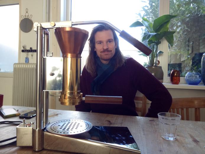 Wouter Strietman maakt een ultieme espresso met zijn CT.