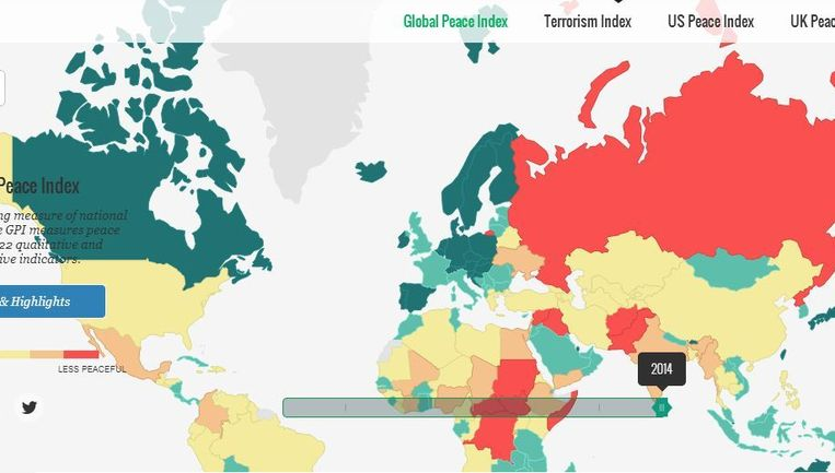Global Peace Index Beeld Global Peace Index