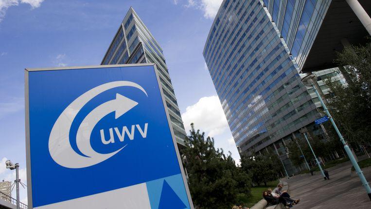 Het hoofdkantoor van UWV in Amsterdam. Beeld anp xtra