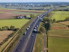 Extra rijstroken van A1 bij Deventer zijn open (maar werk en overlast nog lang niet voorbij)