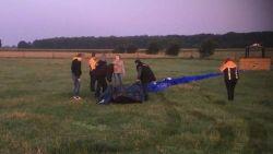 """Ruzie tussen ballonvaarder en paardenfokker over landing in weide krijgt juridisch staartje: """"Ik laat mijn paarden niet in gevaar brengen"""""""