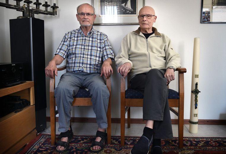 Edward (links) en Richard Schreurs. 'Wij katholieken zijn te gehoorzaam.' Beeld null