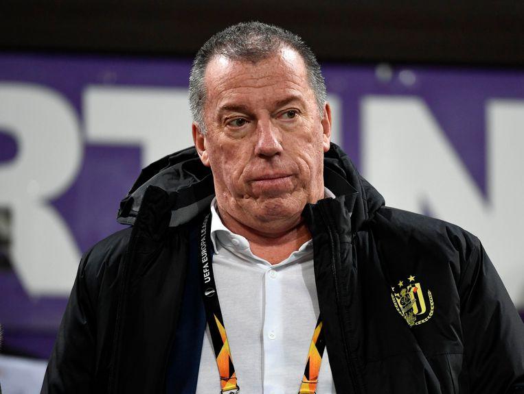Archiefbeeld. Luc Devroe als sportief directeur bij RSC Anderlecht.