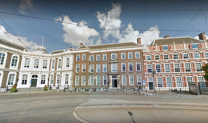 Het gebouw van de Raad van State in Den Haag