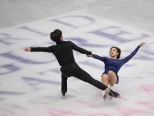 Chinees paar pakt titel bij WK kunstrijden