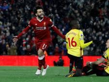 Sublieme Salah helpt Liverpool met vier treffers aan zege
