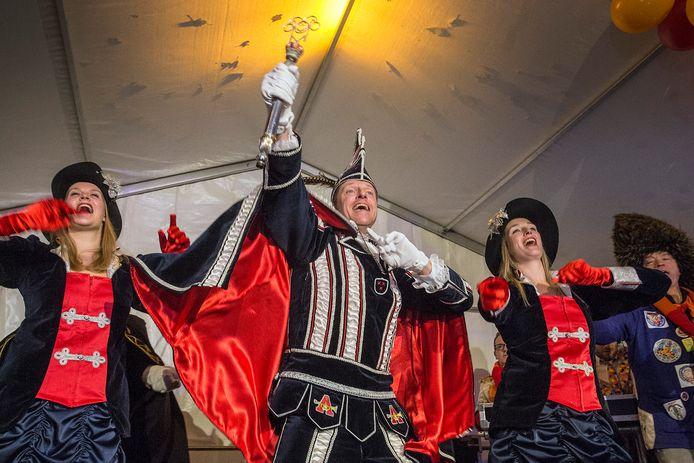 Prins Arie d'n Irste is de nieuwe prins carnaval van t kielegat.