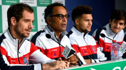 """Franse Davis Cup-kapitein: """"We zijn de voorbije tien dagen omvergeblazen door de prestaties van Goffin"""""""