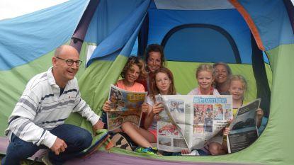 Van polonaise met Andy van De Buurtpolitie tot op foto met Gers Pardoel: glamour op familiecamping Rijvers Festival
