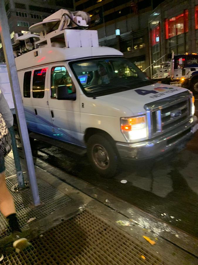 Er was even een behoorlijke paniek na het ongeval met een helikopter in New York.