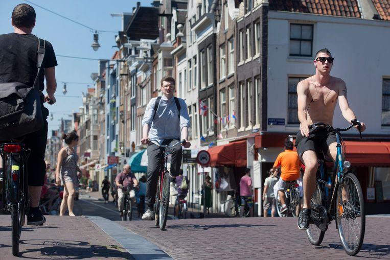 De Haarlemmerstraat. Beeld Hollandse Hoogte /  ANP
