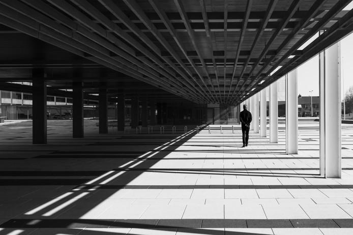 Stadhuis Arnhem, maar dan anders. Foto: onbekend
