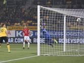 Arbitrale fout kost FC Utrecht een goal in Limburg