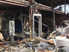 Onderzoek na grote brand in Sint-Maartensdijk