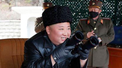 """""""Kim Jong Un superviseerde lancering langeafstandsraketten"""""""