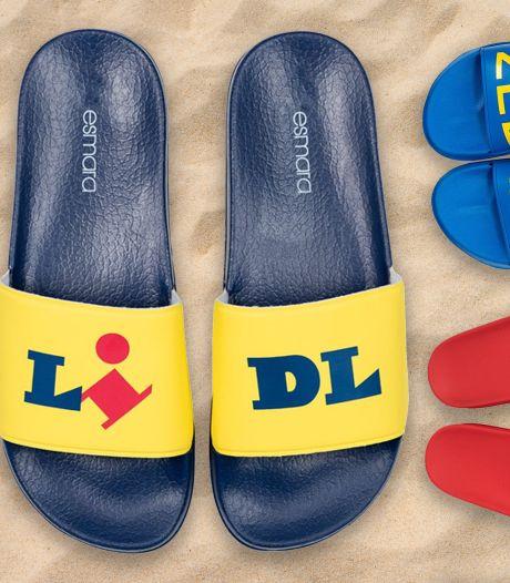 Het geheim achter het succes van de 'lelijke' Lidl-slippers