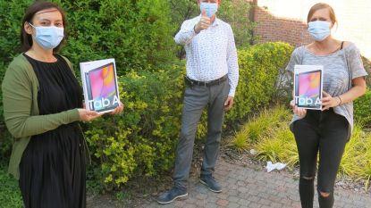 """Rode Duivel Toby Alderweireld schenkt tablets aan PC Sint-Hiëronymus: """"Mooi dat we niet vergeten worden"""""""
