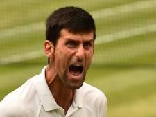 Djokovic finalist na zoveelste thriller op Wimbledon