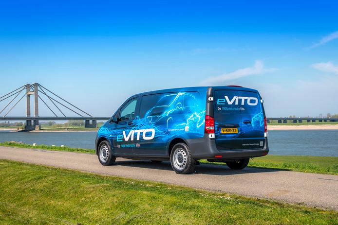 De Mercedes-Benz e-Vito is vooral bedoeld voor 'overzichtelijke ritjes'