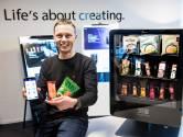 Montfoorter wil wereld veroveren met gezonde snackautomaat: 'Al interesse vanuit Coca-Cola en New York'