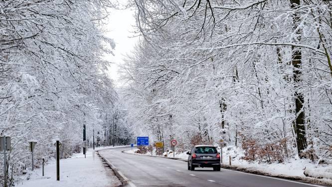Vanavond en vannacht opnieuw kans op lichte sneeuwval in het centrum en oosten van het land