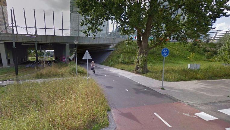 'Doel is dat de tunnel zo is ingericht dat het een gevoel van welkom geeft' Beeld Google Streetview