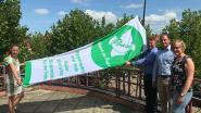 """Vredesvlag wappert aan stadhuis: """"Hopelijk start van een jaarlijks gebeuren"""""""