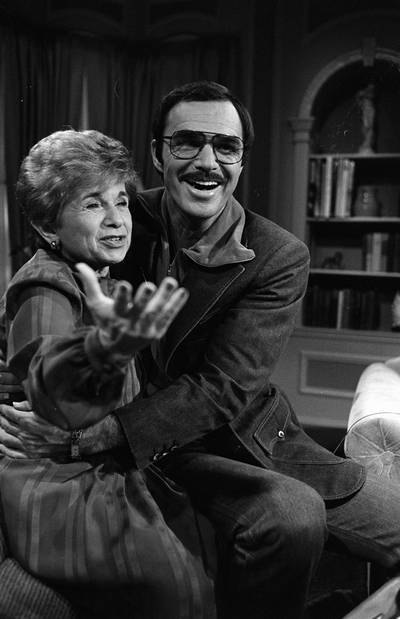 Ruth Westheimer met Burt Reynolds