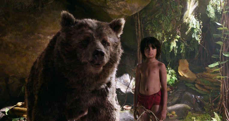 Baloe en Mowglie. Beeld AP / Disney