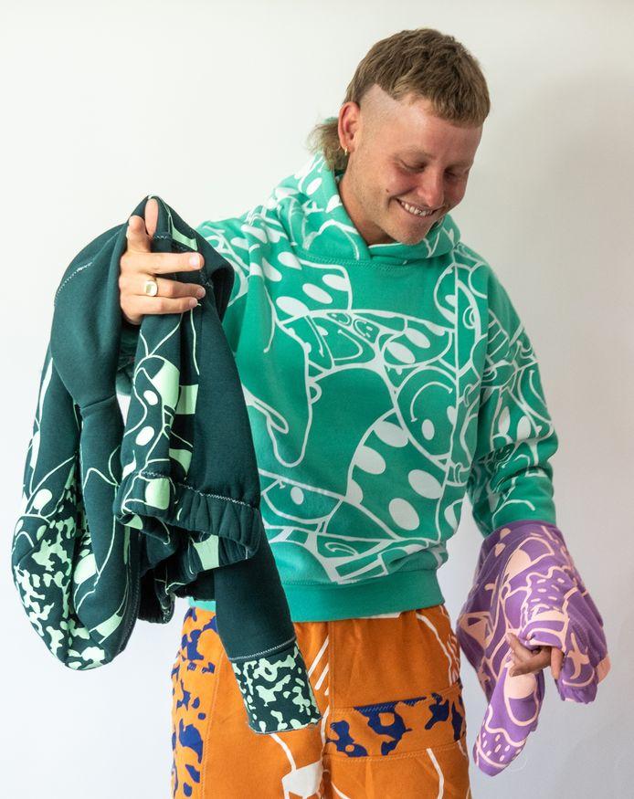 Tobie van Putten: ,,Ik hoop dat mensen die passie voelen als ze mijn kleding dragen. Dat is de droom, dat ik er mensen blij mee maak.''