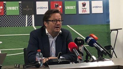 """LIVE. Pro League-voorzitter Coucke: """"Macht van makelaars moet ingeperkt worden en dat is onze verantwoordelijkheid"""""""