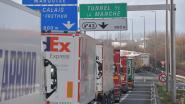 Douaniers Calais en Duinkerke zetten hun stiptheidsacties voort: kilometerslange files