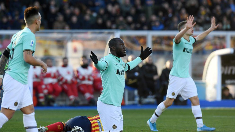 Inter loopt averij op in Lecce, Lukaku ziet goal om twijfelachtige reden afgekeurd