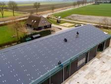 Gieterse energiecoöperatie na acht maanden op jaarproductie