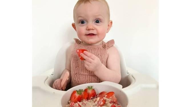"""""""Boterhammetje beu als ontbijt? Verwen jouw baby met havermout en fruit, gezond én lekker"""": jonge mama's stellen Billiebubs voor"""