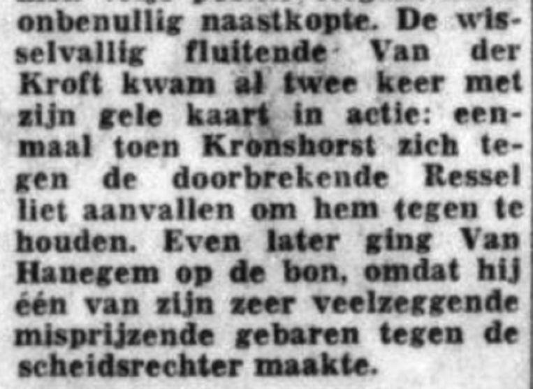 Telegraaf op 14 augustus 1972 Beeld Archief