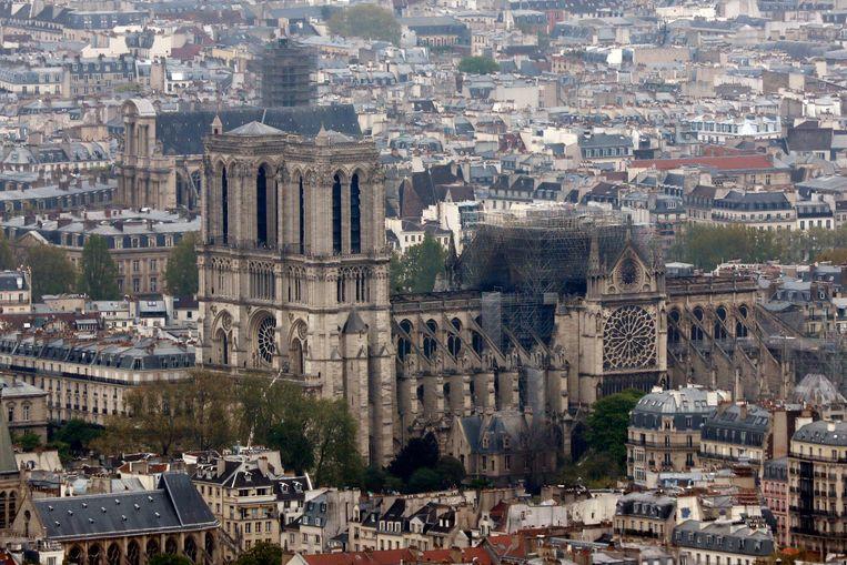 De Notre-Dame vandaag.