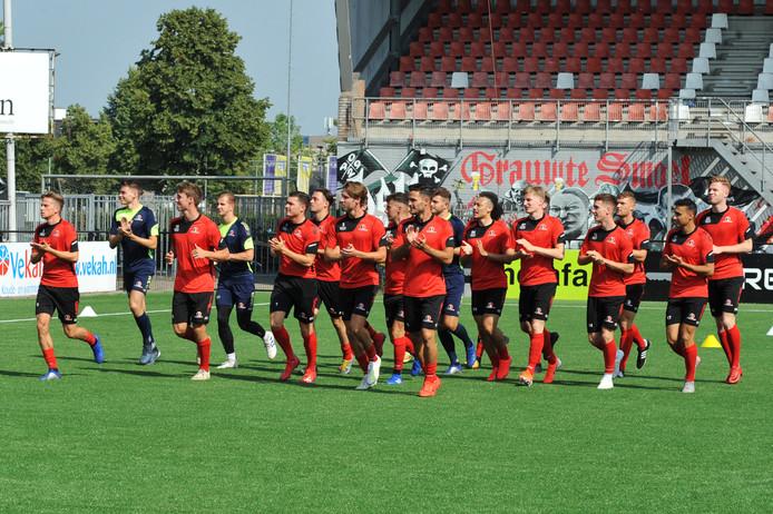 Helmond Sport speelt zaterdag de eerste oefenwedstrijd van het nieuwe seizoen.