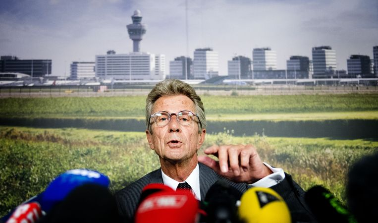 Huib Gorter, de regionale senior vicepresident van Malaysia Airlines.