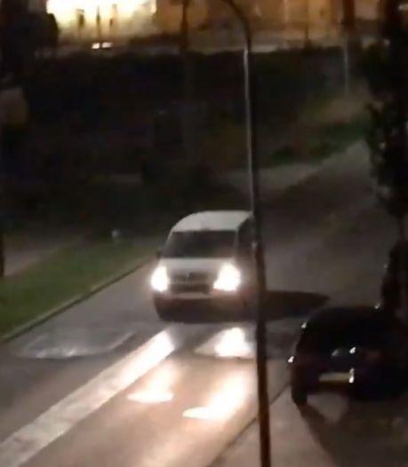 Gat tussen de 'drempels' in de De Willem Ruysstraat in Vlissingen wordt gevuld