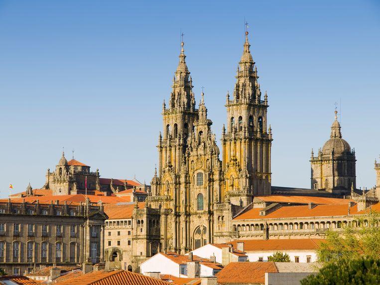Kathedraal van Santiago de Compostela Beeld colourbox