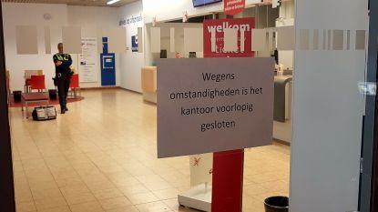 Drie mannen overvallen postkantoor op het Kiel in Antwerpen